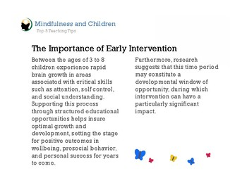 Tips for Teaching Mindfulness to Young Children | Classroom Management