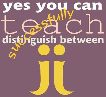 Tips for Teaching the Letter J