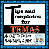 Tips for Temas * AP Spanish Tips and Templates for Teachin