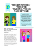 Inclusion Tips Newsletter