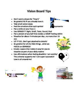 Tips for Vision Board Creating and Manifesting