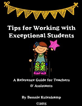 Tips for Working with Exceptional Students