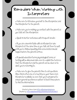 Tips for Working with Interpreters
