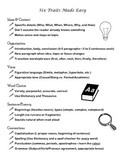 Tips for Writers Six Traits Writing Graphic Organizers Out