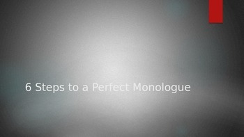 Tips for Writing Monologues