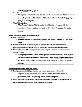 Tips on Effective Writing