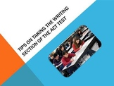 Tips on Taking the Writing Section of the ACT Test