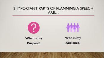 Tips for Planning a Speech