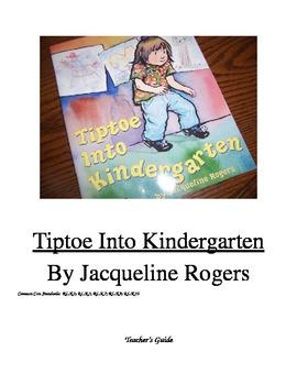 Tiptoe into Kindergarten with Common Core skills
