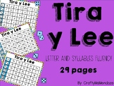 Tira y Lee - Letter and Syllables Fluency