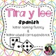 Tira y lee - Roll and Read Spanish letters and syllables *