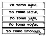 Tiras de Oraciones Cortas - Spanish Sentence Strips