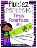 Puedo leer con fluidez - Tiras fonéticas # 1 (Mm, Ss, Pp, Ll y Tt)
