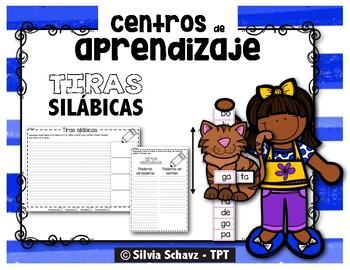 Tiras silábicas para practicar lectura y escritura