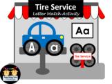 Tire Service Letter Match Activity