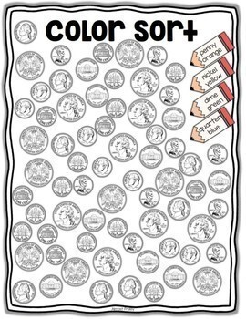 Tired Teacher Packet: Counting Coins