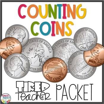 Counting Coins Packet