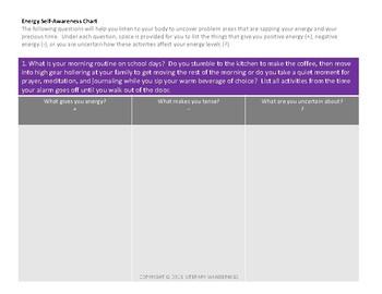 Tired Teacher Self-Reflection {Self Care Survey}