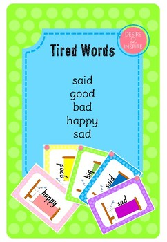 Tired Words