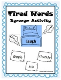 Tired Words (Synonym Activity)