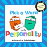 Overused Words Interactive Bulletin Board