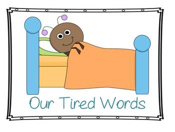 Tired Words (using more interesting words in writing)