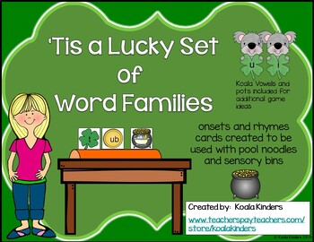 Tis A Lucky Set of Word Families