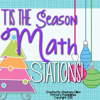 Tis' The Season For Math {December Math Stations}