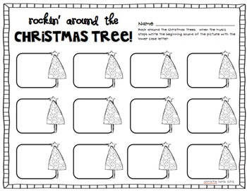 Tis The Season! {Math & Literacy Centers Plus Holiday Art}