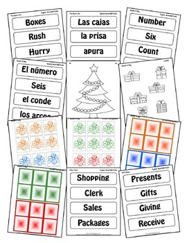 Tis the Season (5-day Thematic Unit) Includes Patterns and Printables