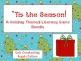 Tis the Season: A Holiday Themed Literacy Game Bundle