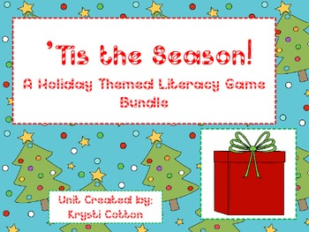 Tis the Season: A Holiday Themed Literacy Game Bundle