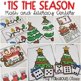 'Tis the Season - Christmas Math and Literacy Centers for