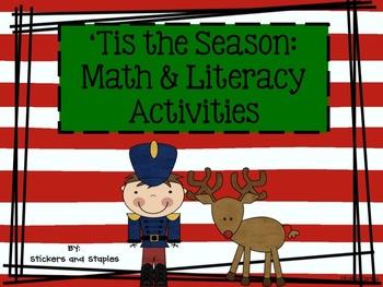 'Tis the Season: Christmas Theme Math and Literacy Activities