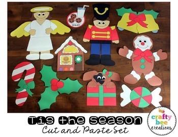 Tis the Season Cut and Paste Set