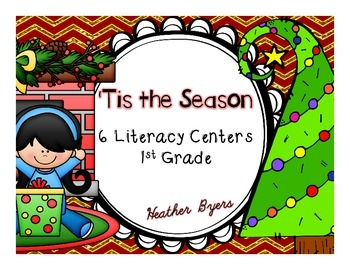 'Tis the Season Literacy Centers