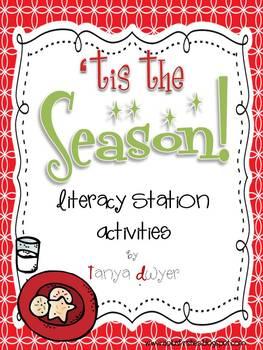 'Tis the Season {Literacy Stations}