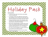 'Tis the Season: Multi-Cultural Holiday Literacy and Math