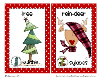 Tis the Season Syllable Sort