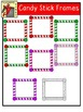 FREE CLIPART - Christmas Candy Frames