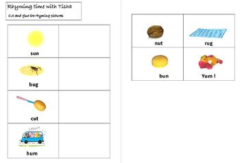 Tisha and the Vowels, short u sound