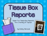 Tissue Box Book Reports