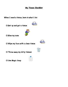 Tissue Checklist