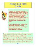 Tissue Lab Task Cards