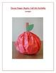 Tissue Paper Apple: Fall Art Activity