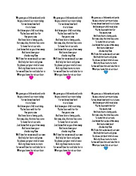 Tissue Poem