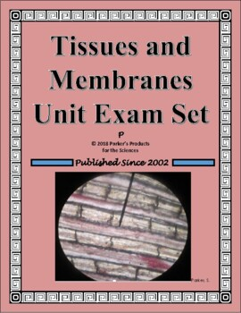 Tissues and Membranes Study Guide or Test