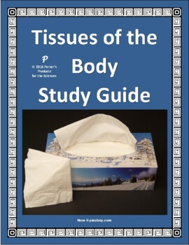 Tissues of the Body Reading / Study Guide (Histology)