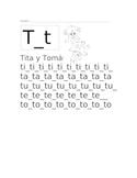 Tita y Tomas Lectura fonetica