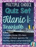 Titanic 1: Unsinkable Set * Novel Quizzes